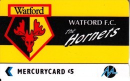 UK - Watford F.C.(PYF064), CN : 4PFLB, Tirage %2010, Used - [ 4] Mercury Communications & Paytelco