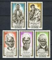 Rép De Guinée 1962. Yvert 115-19 ** MNH. - Guinea (1958-...)
