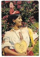 """97 - ANTILLES RADIEUSES - Danseuse Du Groupe Folklorique """" Loulou Boislaville """" - Tampon Et Timbre Venezuela 1973 - Venezuela"""