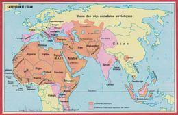La Diffusion De L'Islam, Extension Historique Et Actuel, 1970. - Vieux Papiers