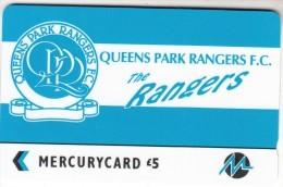 UK - Queens Park Rangers F.C.(PYF050), CN : 3PFLN, Tirage %5900, Used - [ 4] Mercury Communications & Paytelco