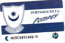 UK - Portsmouth F.C.(PYF048), CN : 3PFLX,  Tirage %5900, Used - [ 4] Mercury Communications & Paytelco