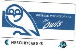 UK - Sheffield Wednesday F.C.(PYF054), CN : 3PFLV, Tirage %5900, Used - [ 4] Mercury Communications & Paytelco