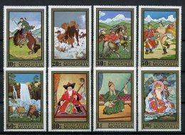 Mongolia 1972. Yvert 604-11 ** MNH. - Mongolie