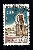 DAHOMEY 233° 50f Bleu-gris Et Lilas-brun Cathédrales Ouidah (10% De La Cote + 015) - Benin - Dahomey (1960-...)