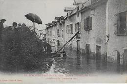 VILLEFRANCHE DE ROUERGUE :Rue Lapeyrade-Sauvetage Des Habitants-Iondation 1906 - Villefranche De Rouergue