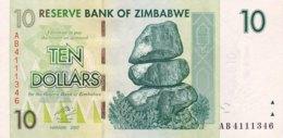 Zimbabwe 10 Dollars, P-67 (2007) - UNC - Simbabwe