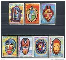 Guinea Ecuatorial 1977. Mi 1111-17 ** MNH. - Equatorial Guinea