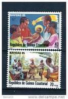 Guinea Ecuatorial 1985. Edifil 71-72 ** MNH. - Equatorial Guinea