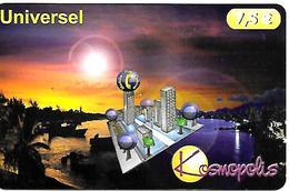CARTE-n-PREPAYEE-KOSMOS-7.5€-KOSMOPOLIS 12/01-30000Ex-TBE   - - France