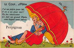 Carte à Système (10 Vues) - PERPIGNAN - Le Coup...d'Pépin - A Systèmes