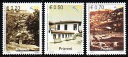 Kosovo, 2011, Cities Of Kosovo - Prizren, Set, MNH, Mi# 187/89 - Kosovo
