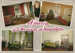 20. (2A). CPM. Corse Du Sud. Ajaccio. La Maison De Napoléon. La Chambre De Madame Mère. Le Divan Où Est Né Napoléon - Ajaccio