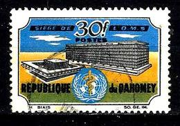DAHOMEY 239° 30f Multicolore Inauguration Du Siège De L'organisation Mondiale De La Santé à Genè. (10% De La Cote + 015) - Bénin – Dahomey (1960-...)
