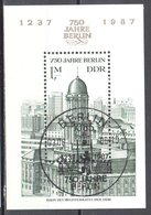 DDR 1986 - Mi.ms 84 - Used - Gestempelt - [6] Democratic Republic