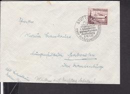 Sonderstempel Stuttgart Postwertzeichen Ausstellung  1938 - Covers & Documents