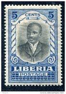 Liberia 1921  5cent MNH**VF - Liberia
