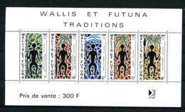 WALLIS - BF  5 - Traditions - Neuf N** - Très Beau - Blocks & Sheetlets