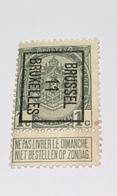 1911 - 1c Bruxelles - Precancels