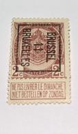 1911 - 2c Bruxelles - Precancels