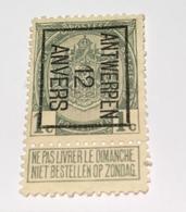 1912 - 1c Antwerpen - Precancels