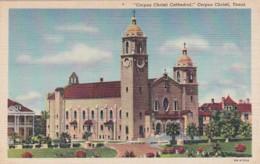 Texas Corpus Christi The Corpus Christi Cathedral Curteich - Corpus Christi