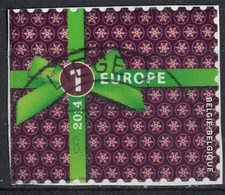 Belgique 2014 Oblitéré Used Sur Fragment Tarif Europe Fêtes De Fin D'Année Cadeau SU - Belgique