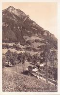 ALTE  Foto- AK  MORSCHACH / K. Schwyz   - Elektrische Bahn Brunnen Morschach - 1920 Ca. - SZ Schwyz