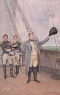 NAPOLEON A LA MER. MODERNE MEISTER. RAPHAEL TUCK. CIRCA 1910s- BLEUP - Historische Figuren