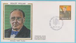 J.M.20 - Canada - F.D.C..- N° 75 - Compositeur - H. Willan - Musique