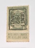 1912 - 1c Gent - Precancels