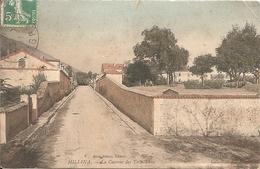 MILIANA - LA CASERNE DES TIRAILLEURS - FORMATO PICCOLO - VIAGGIATA 1911 - (rif. A56) - Algeria