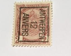 1912 2c Antwerpen - Precancels