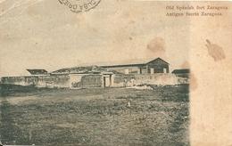 ZARAGOZA - OLD SPANISH FORT - FORMATO PICCOLO - VIAGGIATA - (rif. A58) - Cuba