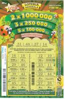 MOLDOVA   MOLDAVIE   MOLDAWIEN  MOLDAU ,  2018 ,  Lottery Tichet , Used - Moldawien (Moldau)