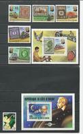 COTE IVOIRE Scott 465, 514-8 519, 536* Yvert BF11, 504-8 BF14, 523* (6+2blocs) O Et * Cote 6,00 $ 1978-9 - Côte D'Ivoire (1960-...)