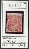 Australien - Australia - Australie - Michel 35 XA - Oo Oblit. Used Gebruikt - 1913-36 George V: Köpfe