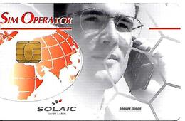 CARTE-n-GSM-SOLAIC-PUCE--M -SIM OPERATEUR/SPECIMEN-TBE-LUXE - France