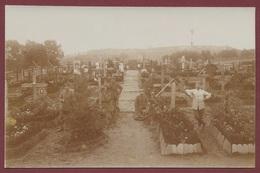 """Bouconville Aisne Carte Photo """" Friedhof """" Cimetière Militaire Allemand """" Chemin Des Dames """" Guerre De 14-18 - France"""