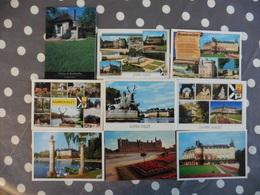 LOT  DE  9 CARTES  NEUVES  DE  RAMBOUILLET - Postcards