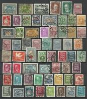 Estland Estonia 1918-1940 = 61 Different Stamps, O - Estonie