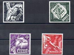 MONACO N° 51/4 - Poste Aérienne