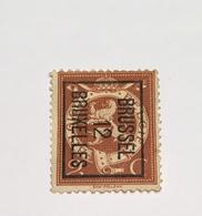 1912 - 2c - Brussel - Typo Precancels 1912-14 (Lion)