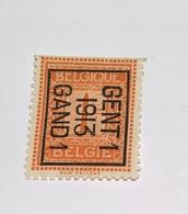 1913 - 1c Gent - Typo Precancels 1912-14 (Lion)