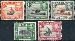 Kenya Uganda & Tanganyika 1938/54. Michel #53/61 VF/MNH. KGVI. (Ts15) - Familles Royales