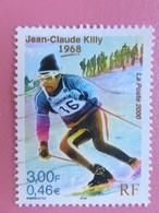 Timbre France YT 3315 - Le Siècle Au Fil Du Timbre - Le Sport - Le Skieur Jean-Claude Killy - 2000 - Used Stamps