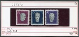 DDR - Germany EAST - Michel 6006-608 A2 - ** Mnh Neuf Postfris - [6] Democratic Republic
