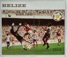 Belize 1982 World Cup Soccer Championship S/S  Scott  B 8 - Belize (1973-...)