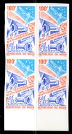 Yvert N° 355** ND Centenaire De La Première Liaison Téléphonique Imperf MNH - Niger (1960-...)