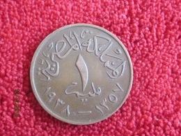 Egypte 1 Millièmes 1938 - Egypte